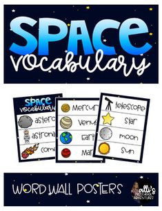 Download includes 15 space related vocabulary words (no definitions) illustrated with clipart. -perfect for your science or literacy/writing center ♥How to get TPT CREDIT to use on future purchases: Beside each purchase you'll see aProvide Feedbackbutton.
