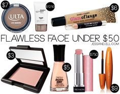 Get a flawless face under $50