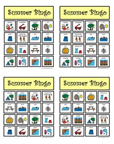 MakingFriends Camping Bingo Print Our Themed BINGO Game With 12 Unique Cards Featuring Words And Pictures Of Gear This Is A Great