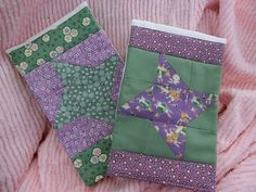 Quilted Burp Cloths 1930's Reproduction by FabricStashCreations, $10.00
