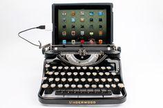 USB Typewriter Computer Keyboard  Black Underwood by usbtypewriter, $799.00