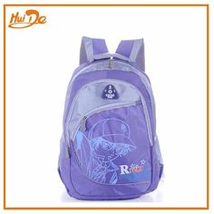 purple polyester school bags for girls - chinabagone.com