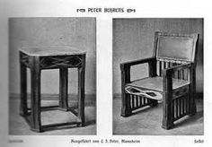 Behrens was an important figure in the modernist movement for Innendekoration 1902