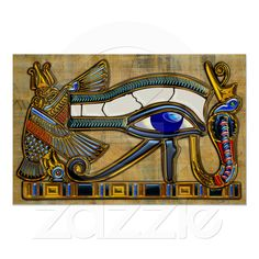 The Eye of Horus Posters from Zazzle.com