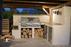 Meine Outdoorküche! Hier ist endlich der Baubericht.