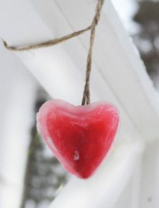 How fun are these? Valentine Heart Ice Art is the perfect way to add some color to your wintery world.