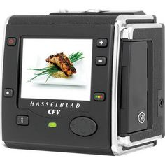 If I somehow strike it rich I will most definately be purchasing one of these... even though it costs about as much as my car (with the camera and lens) Hasselblad CFV-50 Digital Back (50 MP)