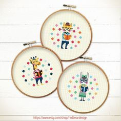Modern Cross stitch pattern Set   Reading Power  by redbeardesign, £7.00