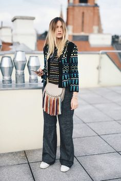 Nina Suess: Witthauergasse, Wien Gary Pepper Girl, Witt, Boho Chic, Pants, Style, Fashion, Moda, Trousers, Fashion Styles