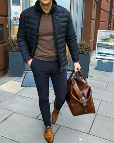 winter outfits men Image may contain: one or more people, people standing and shoes Mens Fall Outfits, Adrette Outfits, Stylish Mens Outfits, Winter Outfit For Men, Men's Winter Outfits, Summer Outfits, Stylish Mens Fashion, Summer Clothes, Casual Outfits