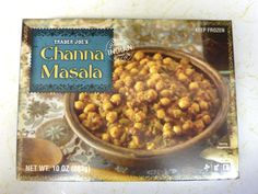 goes up against a lot of nyc channa, with complex flavors, but it's frozen and cheap with little preservatives!