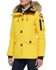 Montebello Parka with Fur Hood by Canada Goose at Neiman Marcus.