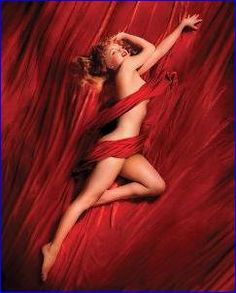 Marilyn Monroe Red Silk | Celebrities | Hardboards | Wall Decor | Plaquemount | Blockmount | Art | Pictures Frames and More | Winnipeg | MB | Canada