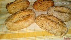 Grahamové bagetky s rascou (fotorecept) Thing 1, Graham, Bread, Food, Basket, Breads, Xmas, Brot, Essen