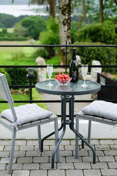 Abhainn Ri Garden suite is an ideal place to stay with your very special person and take in the views. Farmhouse Garden, Outdoor Tables, Outdoor Decor, Romantic Getaway, Special Person, Lake View, Bed And Breakfast, Entrance, Outdoor Furniture