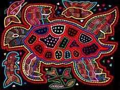 Las molas: transmitiendo la historia del pueblo Kuna   Manualidades y Artesanía