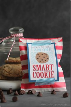 Thanks for making me a smart cookie, teacher thank you ...