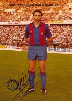Quini - Barcelona 1983-84  El gran Enrique Castro `Quini´