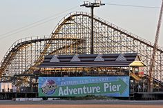 Great White Roller Coaster Wildwood, New Jersey Ash's favorite!!