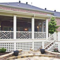 Screen Porch Design Ideas for Your Porch& Exterior Screened Porch Designs, Screened In Porch, Screened Porch Decorating, Side Porch, Cabana, Porch Kits, Porch Ideas, Balcony Ideas, Building A Porch