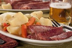 Nothing says St. Patrick's Day like this Classic Corned Beef and Cabbage recipe. You don't have to be Irish to enjoy a taste of fork-tender corned beef with a hearty helping of potatoes, carrots, and cabbage. Now that's what we call dinnertime goodne