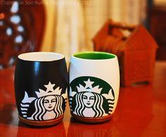 Starbucks Mugs by joooie, via Flickr