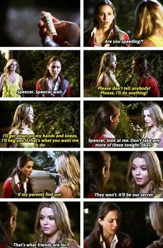 """S4 Ep24 """"A is for Answers"""" - Ali and Spencer"""