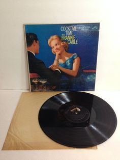 Frankie Carle Cocktail Time With Frankie Carle Vintage Vinyl Record Album lp 1958 RCA Victor LPM-1221