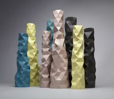 Faceture, Gorgeous Faceted Objects Made on a Hand-Cranked Machine. Watch the video
