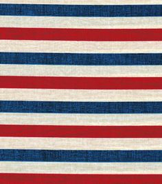 Patriotic Fabric-Textured Stripe Parchment