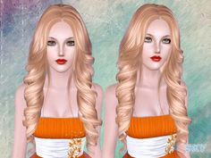 Hair 261 by Skysims - Sims 3 Downloads CC Caboodle