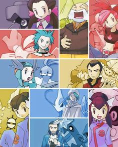 Hoenn gym leaders and champions