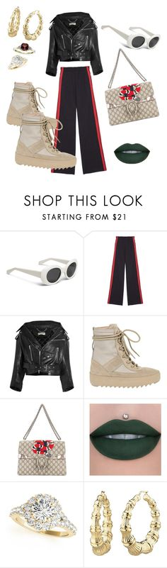 """""""🌹"""" by jaden-jona ❤ liked on Polyvore featuring Balenciaga, adidas and Gucci"""