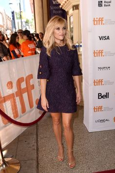 Reese Witherspoon in Dolce & Gabbana. Love my sweet heart Reese.