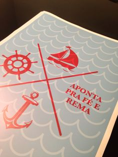 Detalhe do #poster Aponta Pra Fé :: www.nacasadajoana.com.br