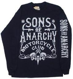 Bold Motor Club - Sons Of Anarchy Long Sleeve T-shirt Sons Of Anarchy Motorcycles, Sons Of Anarchy Samcro, Biker Wear, Club Shirts, Just Girly Things, Funny Me, Fashion Killa, Graphic Sweatshirt, T Shirt