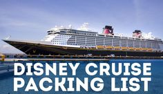 Most complete Disney Cruise Packing List anywhere! This guide has everything you need to know about packing for Disney Cruise vacation. Packing List For Cruise, Vacation Packing, Cruise Tips, Cruise Travel, Packing Tips For Travel, Cruise Vacation, Summer Vacations, Disney Travel, Packing Lists