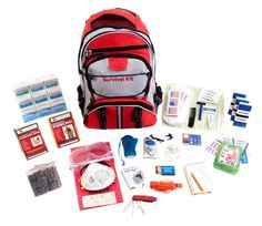 Article describing the bare necessities to create a life-saving bug out bag or survival kit.  They can be extensive, but this is a good starting point for for your first, and first of many, strategically designed, packed and located emergency survival kit:  http://www.survivalgear-shop.com/survival-kit-essentials-bug-out-bag-necessities/