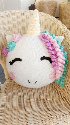Ravelry: Crochet Unicorn Pillow Pattern pattern by Yali's & Yabo's