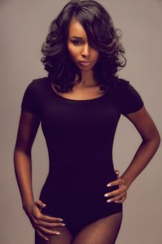Mid-length Hairstyle for Black Women