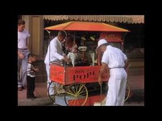 Disneyland video footage from 1955