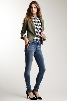 Great Outfit - HauteLook.com: nice jackets Plaid Shirt Outfits, Work Wardrobe, Casual Clothes, Winter Clothes, Winter Outfits, Kids Outfits, Preppy Style, Dress For You, Nice Jackets