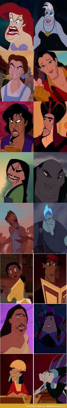 Disney Hero/Villain Faceswap