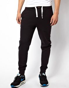 203f43f528da2e Skinny Joggers With Zip Fly And Button Detail