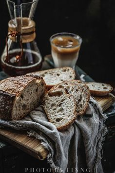 Just bake rolls of milk yourself from the baker - # bake # baker # egg . Dark Food Photography, Coffee Photography, Artisan Bread, Sourdough Bread, Food Design, Bread Baking, Food Pictures, Food Inspiration, Bakery