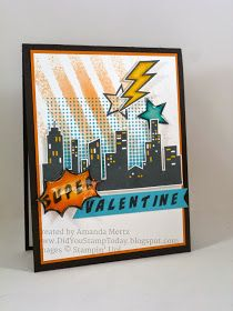 Did You Stamp Today?: Super Hero Valentine