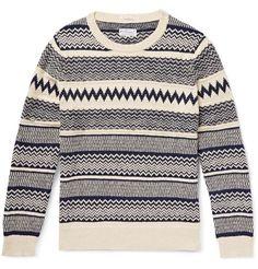 Gant Rugger Cotton Jacquard-Knit Sweater | MR PORTER