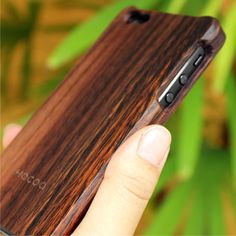 Wooden case for iPhone5