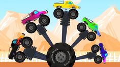Here we comes with a finger family collection which is specially made for kids & toddlers. Enjoy this 60 min plus compilation with us. #monstertrucks #fingerfamily #fingerplay #vehicles #trucks #kidsvideos #babyvideos #kids #parenting #learning