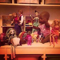 Но главное - это #happyend ! #playmobil #monsterhight #барби #дружбаэточудо #game #kids #дети
